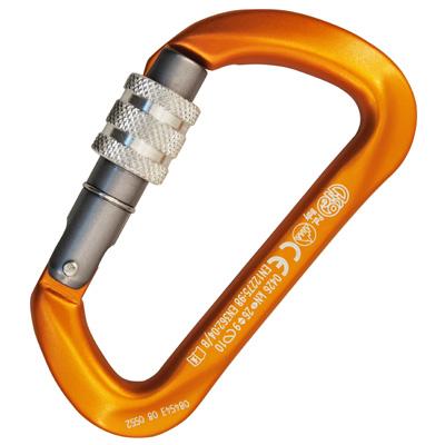 карабин альпинистский с муфтой keylock